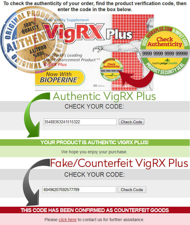 Fake VigRX Plus