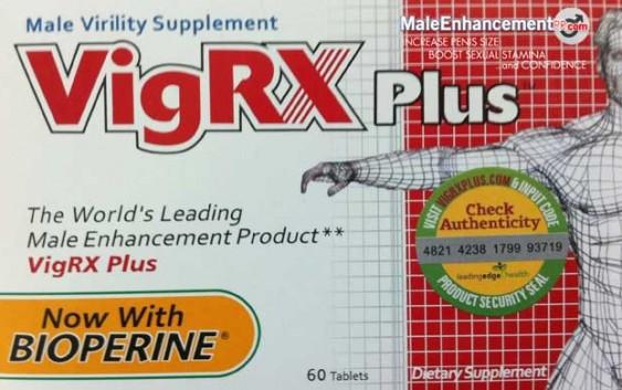 VigRX Plus And Volume Pills